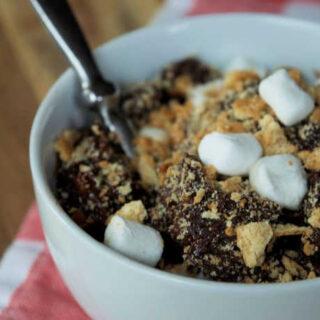 Crock-Pot S'mores Lava Cake