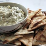 Crock-Pot Asiago Spinach Dip - Dip your favorite chips, veggies or bread slices in this simple 5 ingredient recipe for Slow Cooker Asiago Spinach Dip! Full of flavor and so EASY! | CrockPotLadies.com