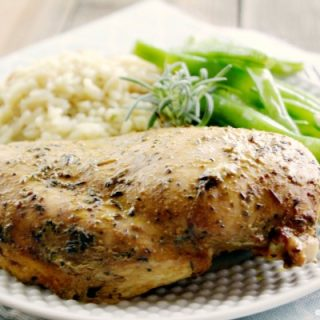 Crock-Pot Roasted Herbed Chicken