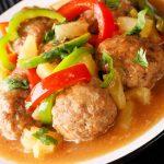 Crock-Pot Sweet N Sour Meatballs