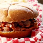Crock-Pot BBQ Ham Sandwiches