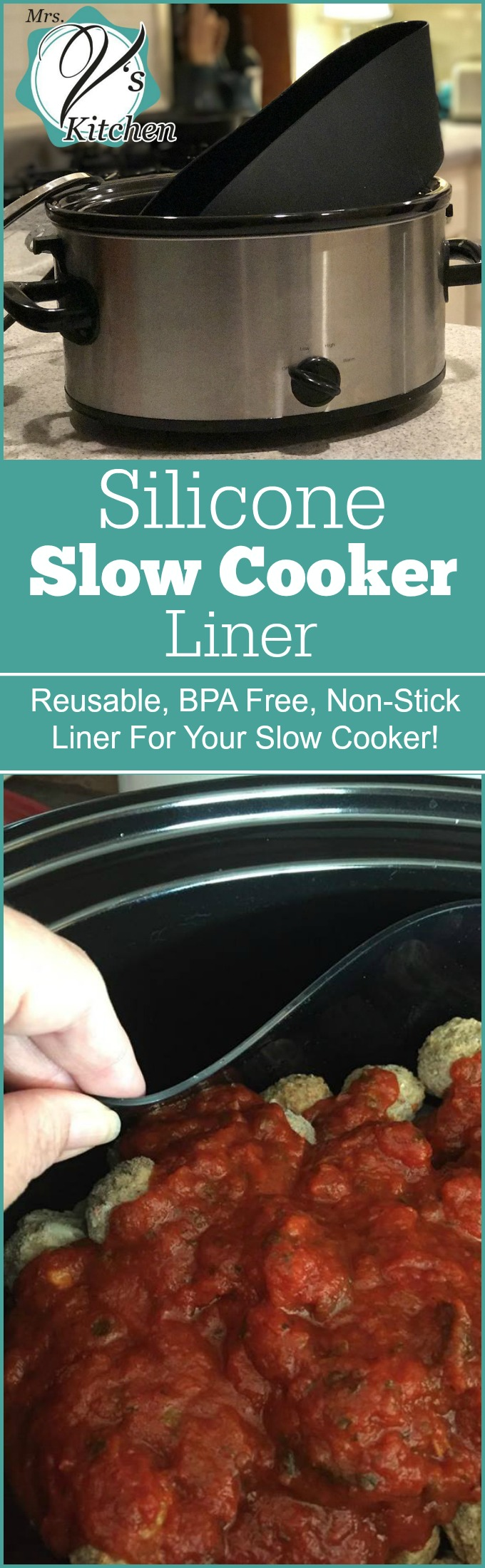 Silicone Slow Cooker Liners By Mrs. V\'s Kitchen Review & Giveaway ...