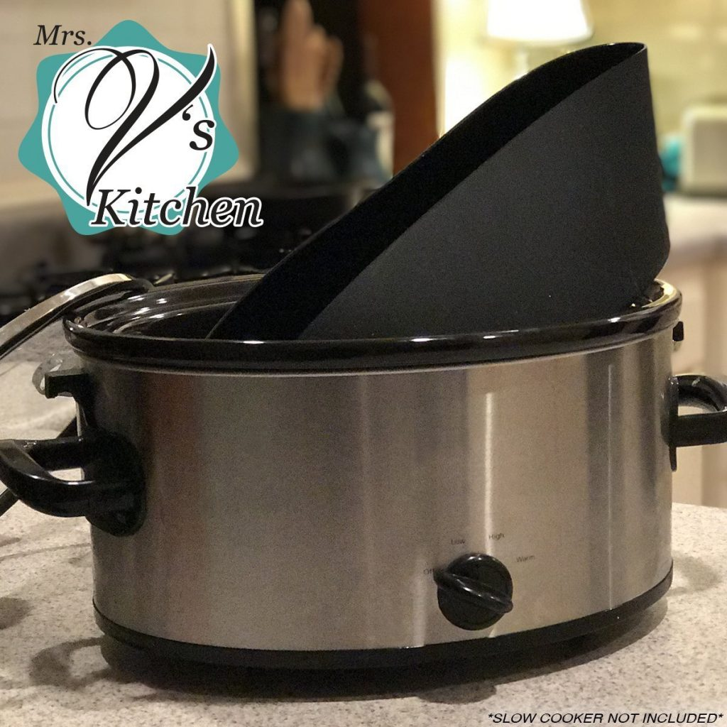 Silicone Slow Cooker Liners By Mrs. V's Kitchen - A Review By CrockPotLadies.com