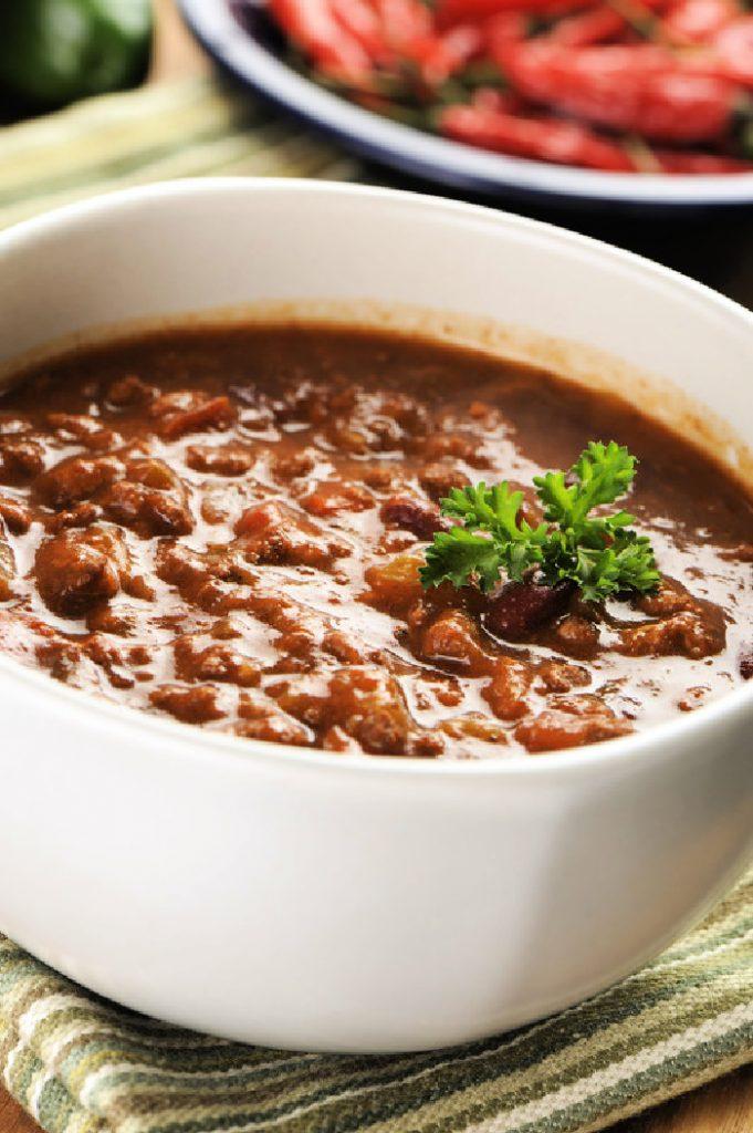 Crock-Pot No Bean Chili