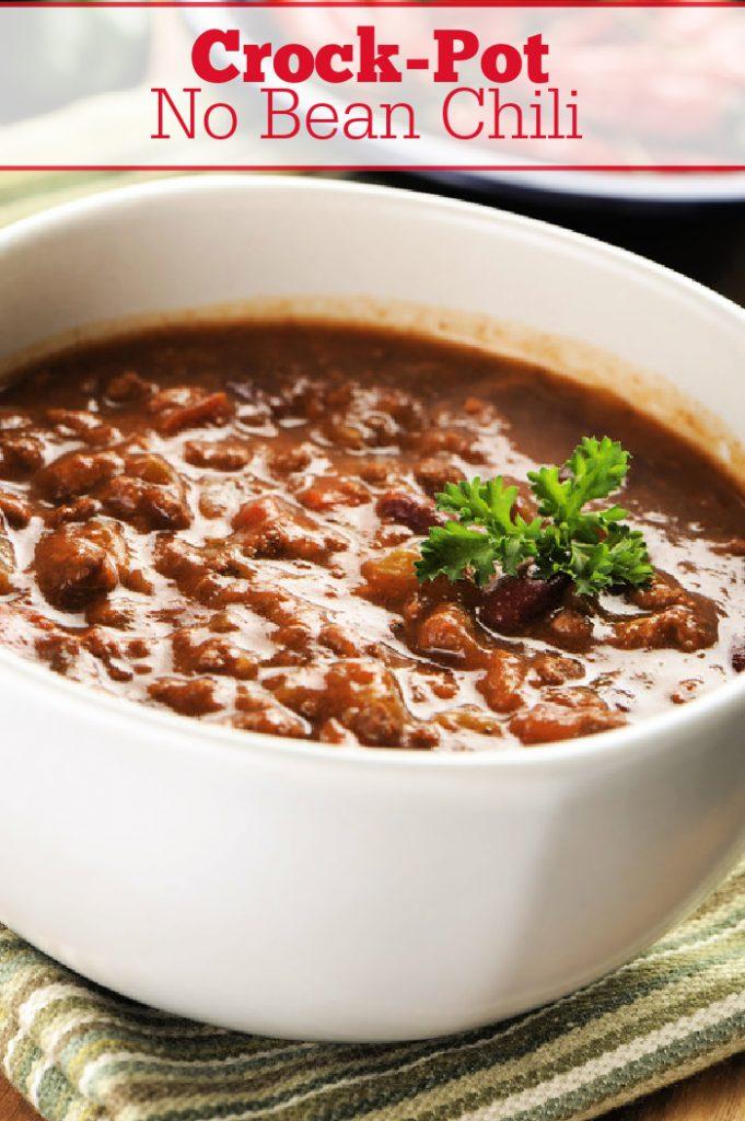 Crock Pot No Bean Chili Crock Pot Ladies