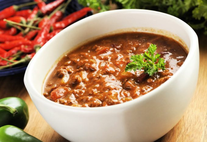 Crock-Pot No Bean Chili