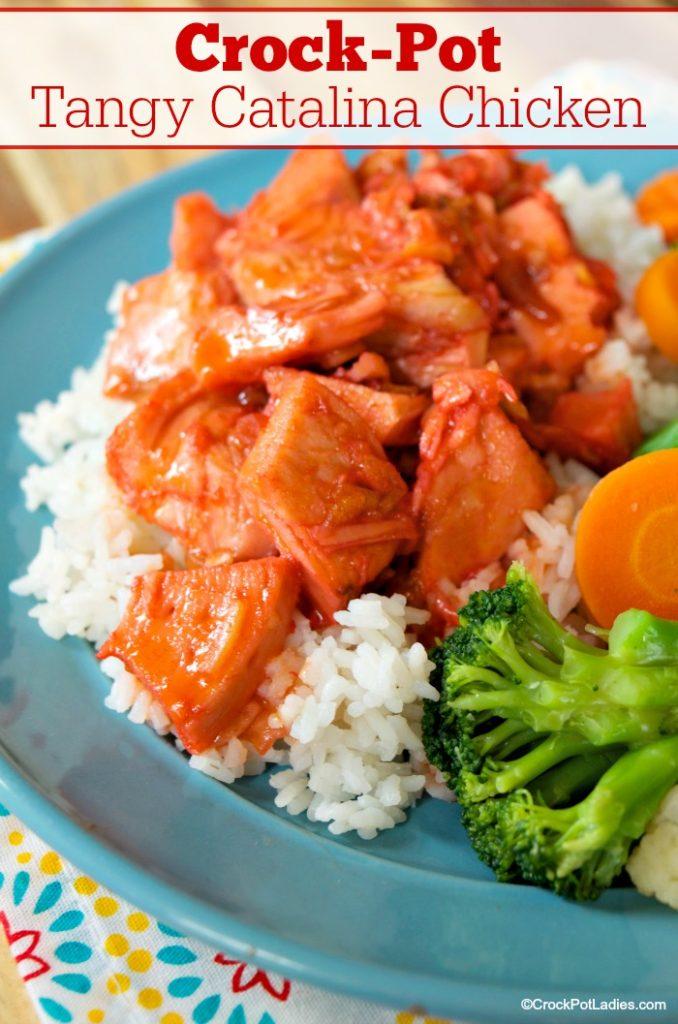 Crock-Pot Tangy Catalina Chicken