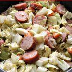 Crock-Pot Cabbage, Kielbasa Sausage and Potatoes