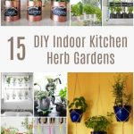 15 DIY Indoor Kitchen Herb Gardens