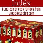 Crock-Pot Recipe Index