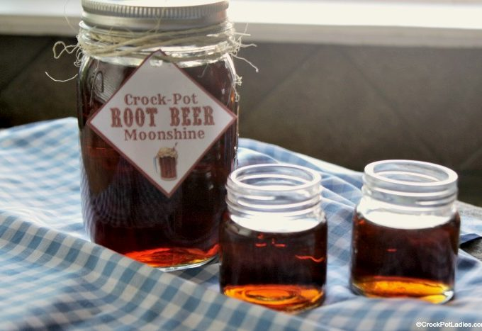 Crock-Pot Root Beer Moonshine