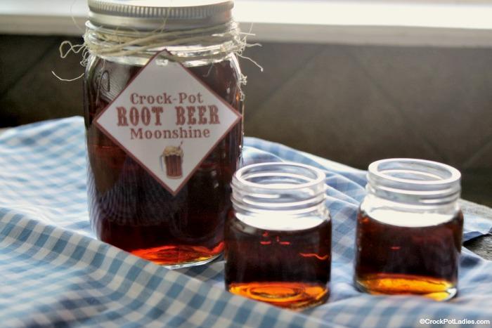 Crock-Pot Root Beer Moonshine