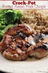Crock-Pot Sweet Asian Pork Chops