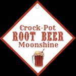 Crock-Pot Root Beer Moonshine Label #1