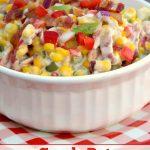 Crock-Pot Creamy Fiesta Bacon Corn