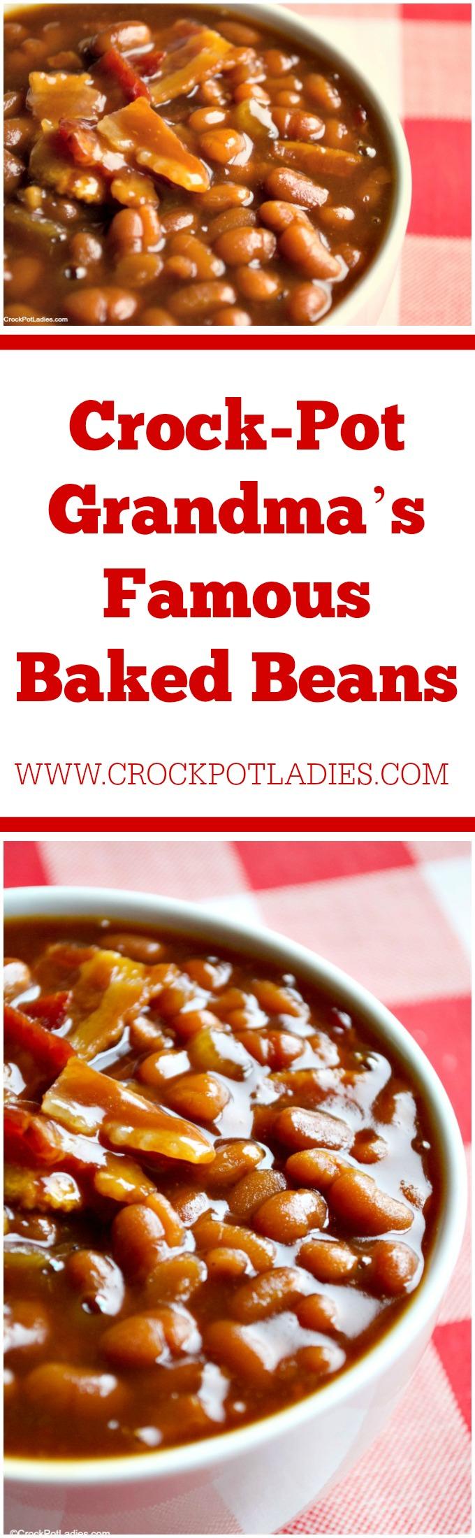 Crock-Pot Grandma's Famous Baked Beans