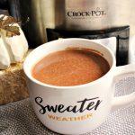 Crock-Pot Pumpkin Spice Hot Chocolate