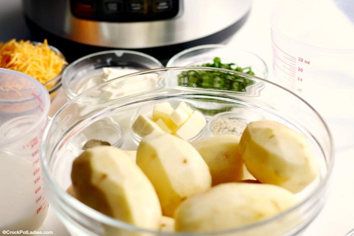 Crock-Pot Express Crock Loaded Mashed Potatoes (Ingredients)