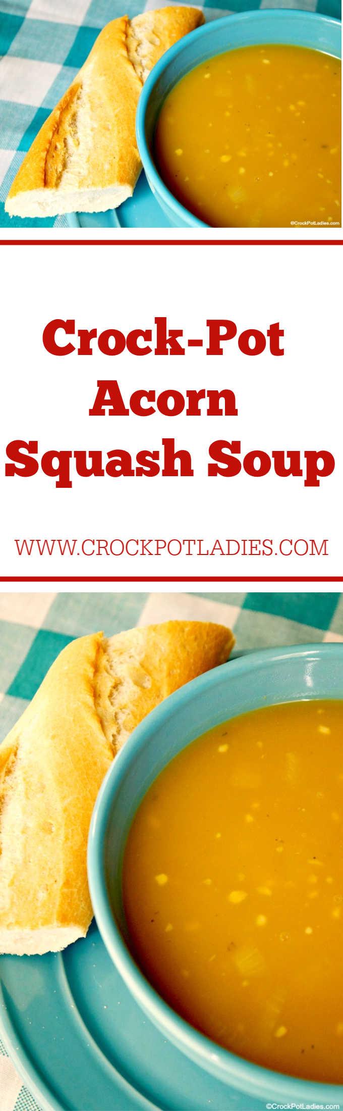 Crock-Pot Acorn Squash Soup