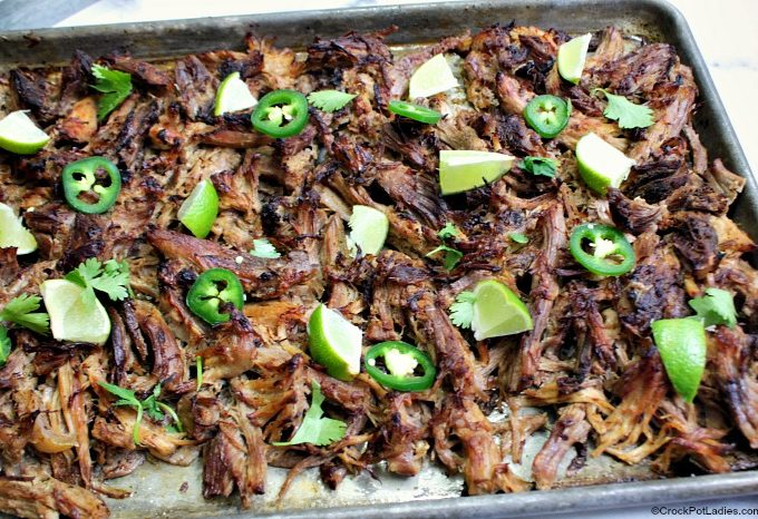 Crock-Pot Pork Carnitas (Mexican Shredded Pork)