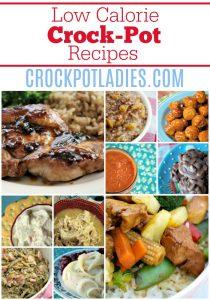 120+ Low Calorie Crock-Pot Recipes