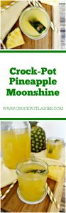 Crock-Pot Pineapple Moonshine