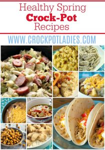 Healthy Spring Crock-Pot Recipes