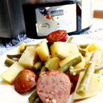 Crock-Pot Potatoes, Sausage And Green Beans