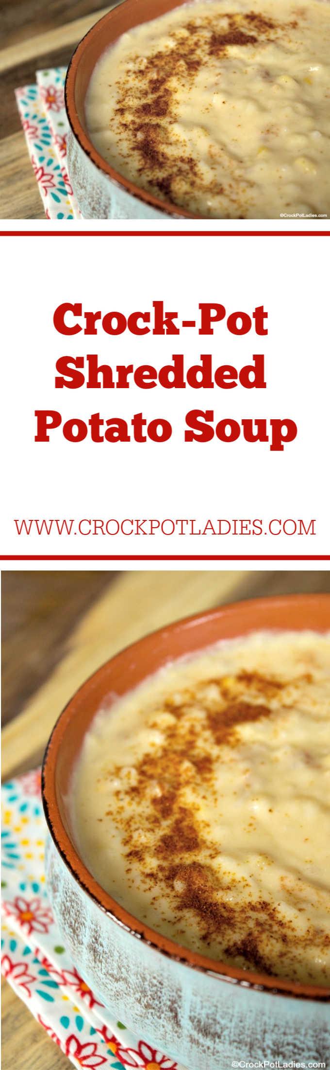 Crock-Pot Shredded Potato Soup