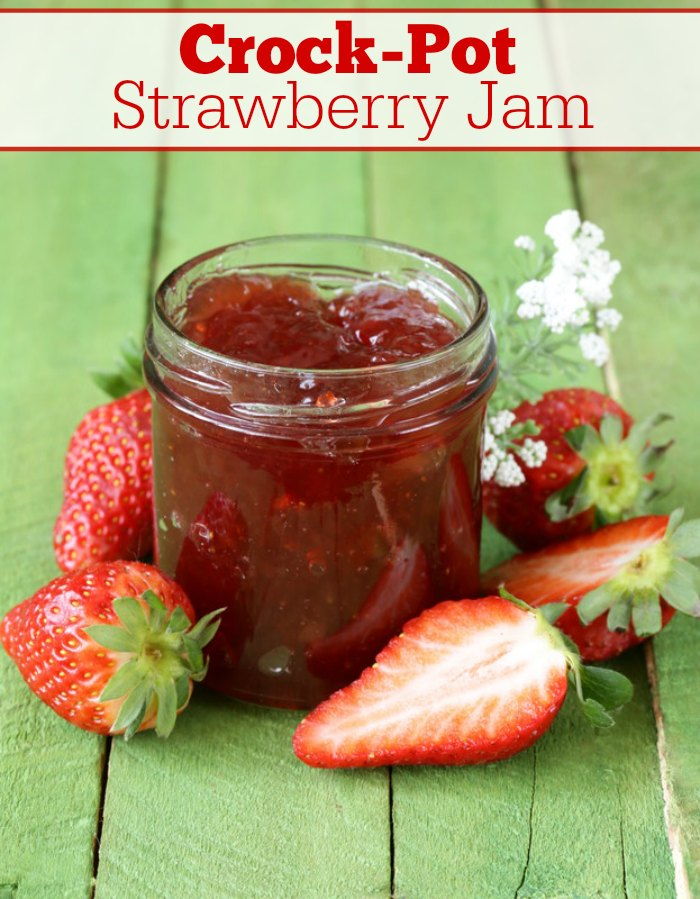 Crock-Pot Strawberry Jam Recipe