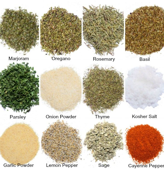 Garlic And Herb Seasoning And Spice Mix