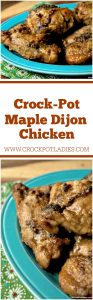 Crock-Pot Maple Dijon Chicken