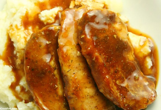 Crock-Pot 3-Ingredient Pork Chops