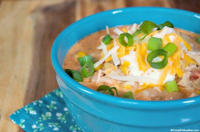 Crock-Pot Buffalo Chicken Chili