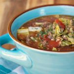 Crock-Pot Cabbage Roll Soup