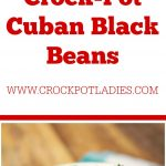 Crock-Pot Cuban Black Beans