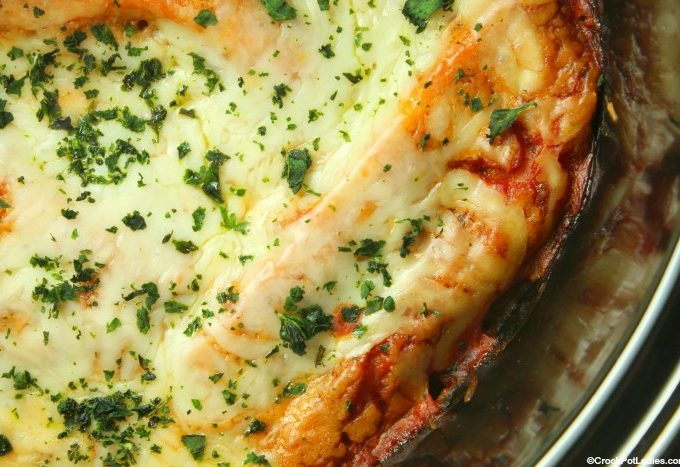 Crock-Pot Manicotti