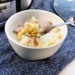 Crock-Pot Potato & Kielbasa Chowder
