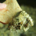 Crock-Pot Skinny Spinach Dip