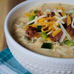 Crock-Pot Jalapeno Popper Chicken Soup