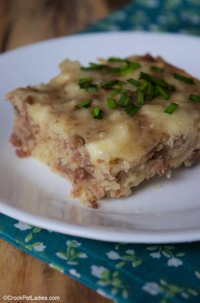 Crock-Pot Sausage Bake