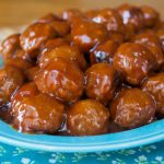 Crock-Pot Express BBQ Meatballs