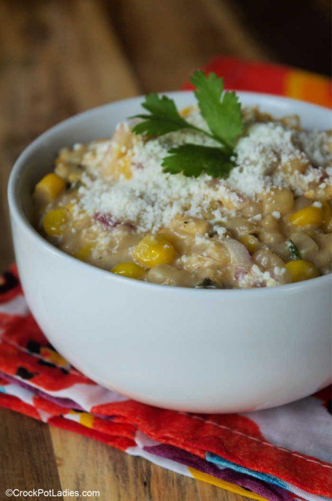 Crock-Pot Express Mexican Elote Corn Salad
