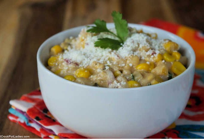 Crock-Pot Express Mexican Elote Corn Salad