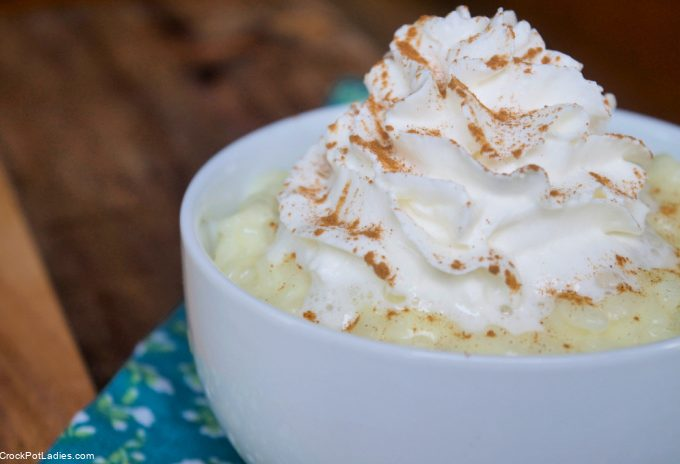 Crock-Pot Express Rice Pudding