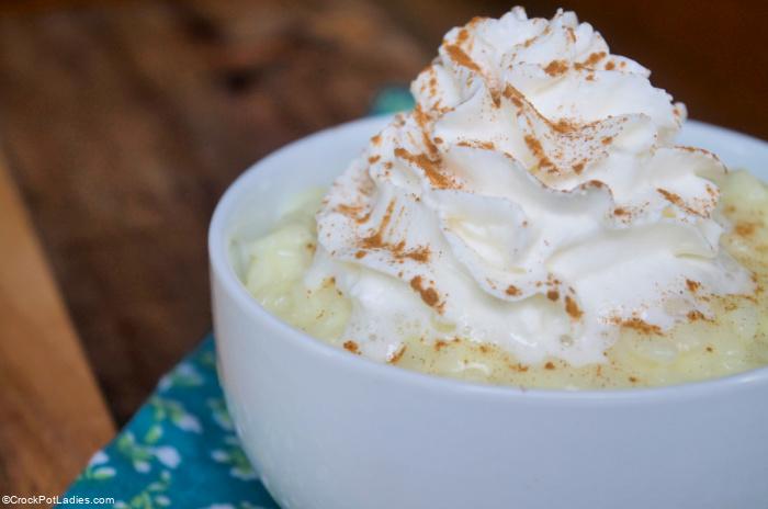 Crock-Pot Express Rice Pudding