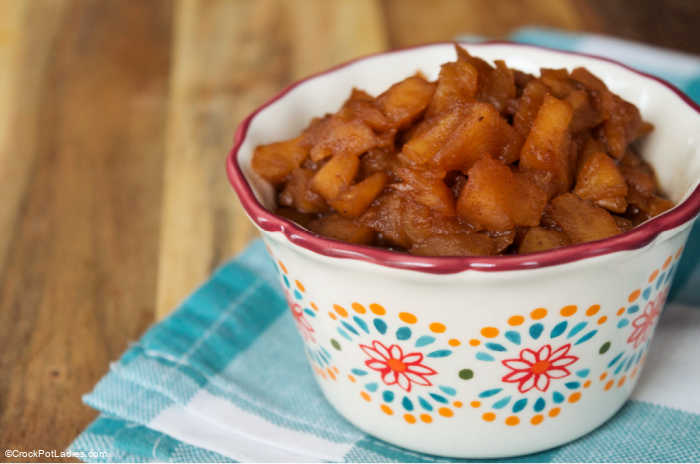 Crock-Pot Homemade Chunky Applesauce