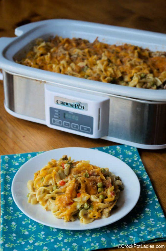 Crock-Pot Tuna Noodle Casserole