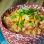 Crock-Pot Vegetarian Chili Mac