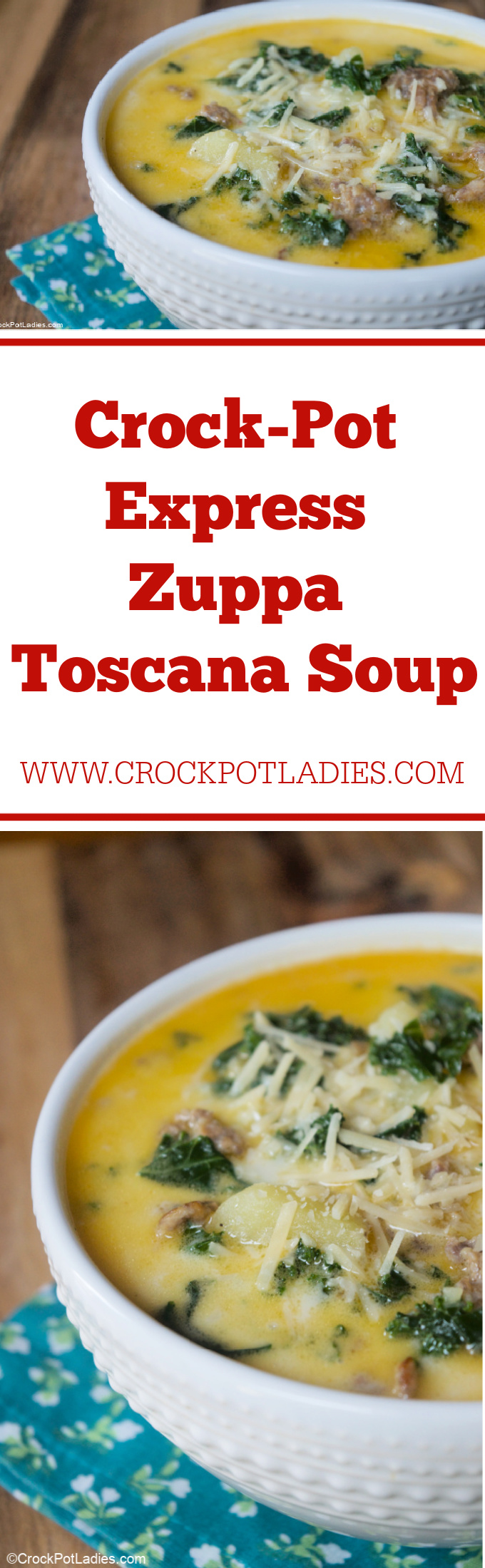 Crock-Pot Express Zuppa Toscana Soup